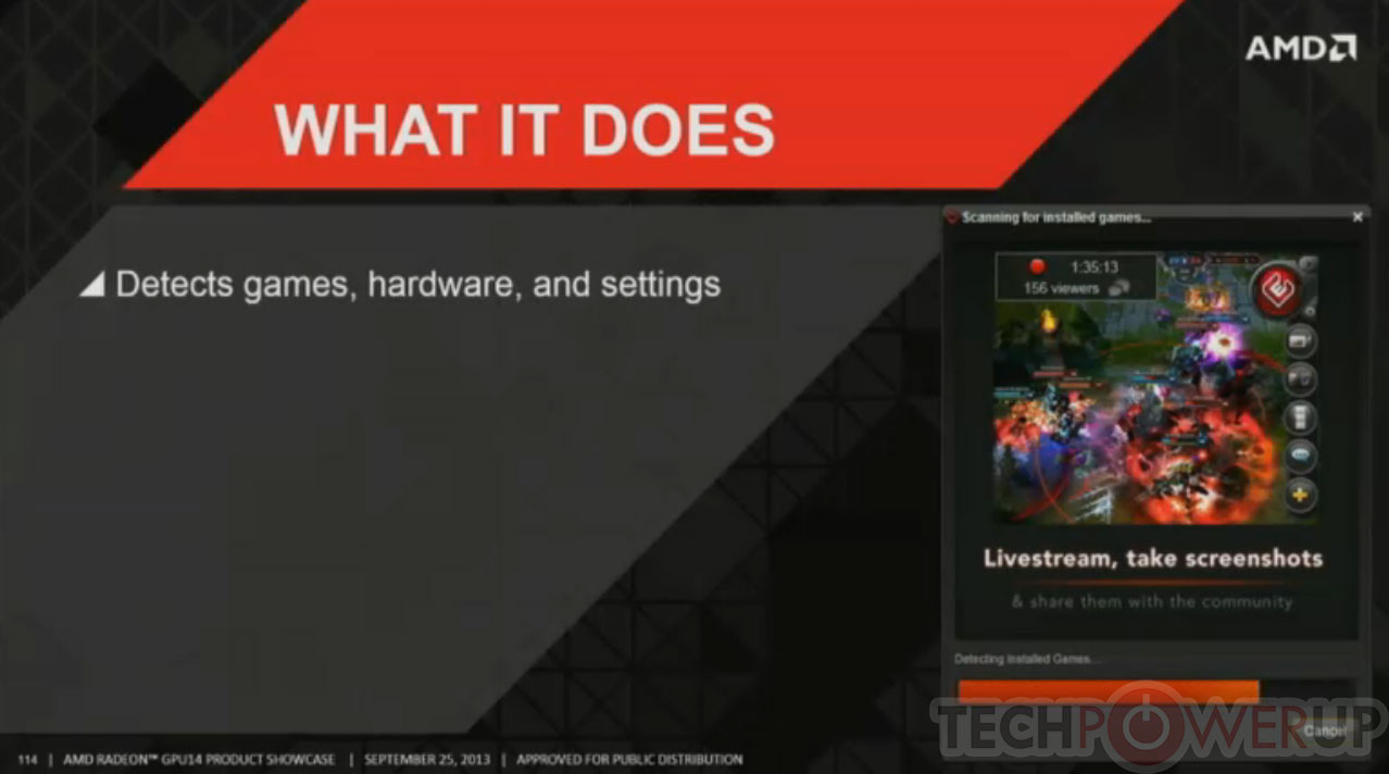 A few months after NVIDIA's GeForce Experience, AMD introduces their Gaming Evolved App built by Raptr that is the most feature rich application ever built for PC gamers. Its all your social ...