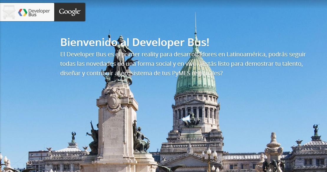 google-developer-bus