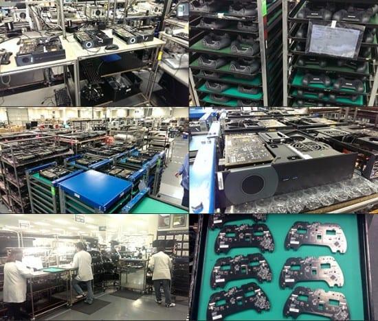 Valve ha compartido estas imagenes de la línea de producción de las Steam Machines