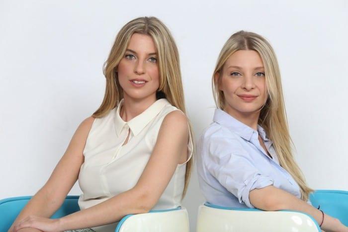 Izq a Der Dominique y Madeleine Dujovne