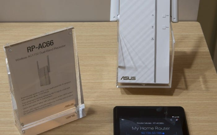 RP-AC66 & ASUS Router App