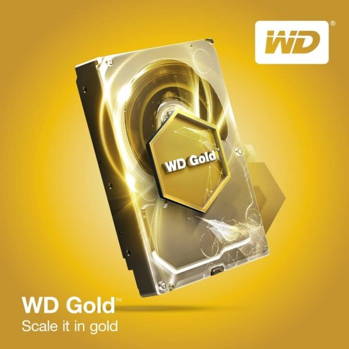 Western Digital Enhances Its Datacenter Portfolio With WD Gold Hard Drives (PRNewsFoto/Western Digital Corp.)