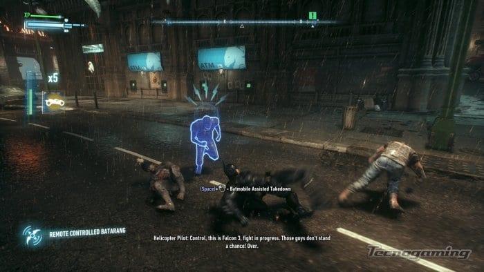 Jugando al Batman: Arkham Knight con el teclado, experiencia satisfactoria.